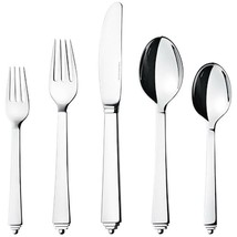 Pyramid by Georg Jensen Stainless Steel Flatware 5 Piece Place Setting New - $112.50