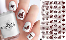 Texas A&M Aggies Nail Decals (Set of 51) - $4.95
