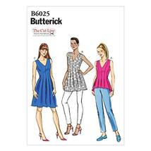BUTTERICK PATTERNS B6025B50 Misses' Top, Tunic and Dress Sewing Template... - $2.94