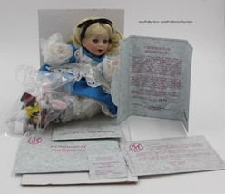 "Marie Osmond ""Baby Alice in wonderland"" Tiny tot Doll W/ box and COA #3594 - $125.00"
