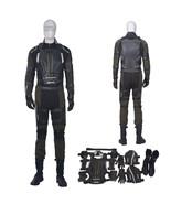 X-Men Apocalypse Scott Summers Cyclops Black Cosplay Costume Full Set - $342.49