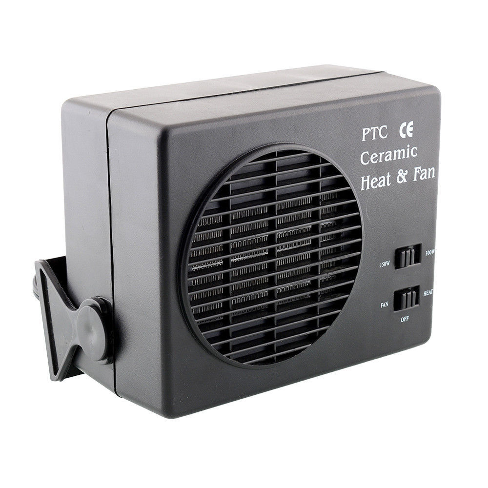 Car Fan Heating and Cooling Ceramic Defroster 12V Portable Temperature Device