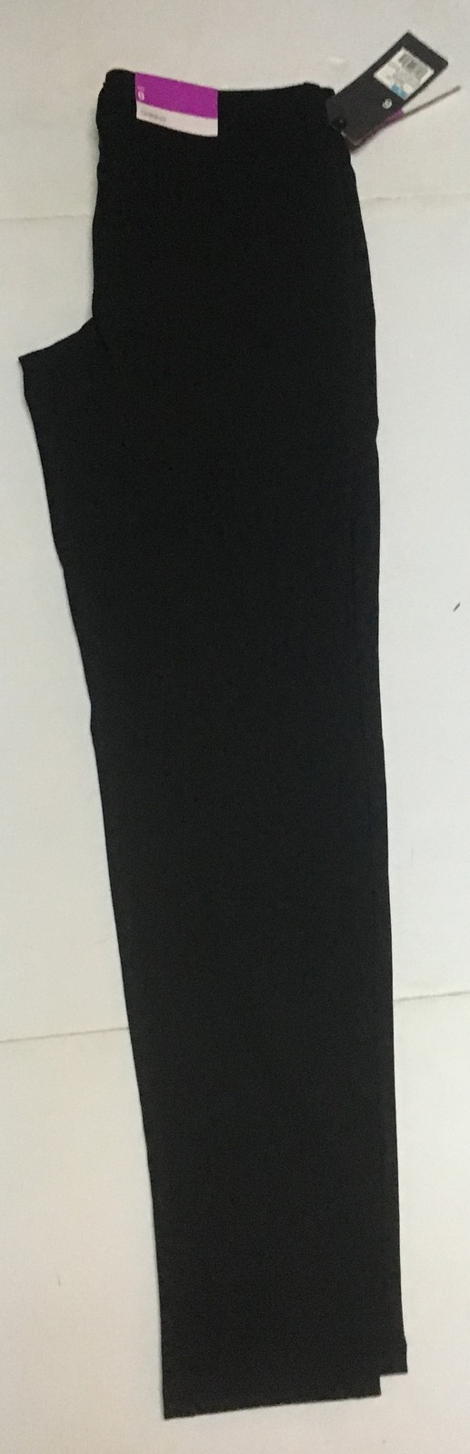 Mossimo Black Skinny Pants Mid-Rise Stretch NWT Sz 6