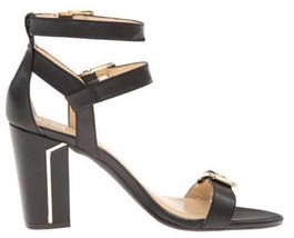 Women's Shoes Jessica Simpson JULINDA Dress Sandals Heels Leather Black - $44.99