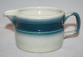 Vintage Wedgwood Blue Pacific Creamer  Made in England Retro Oven to Table - $26.10
