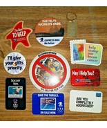 Vtg Pin Back Buttons US Postal Service Pinback Buttons USPS Priority Mai... - $29.69