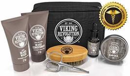 Beard Care Kit for Men Gift - Beard Grooming Kit Contains Travel Size Beard Oil, image 4