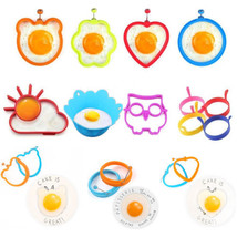 1x Silicone Eggs Steamer DIY Fried Egg Pancake Ring Fried Egg Mould Cook... - $1.66 CAD+