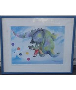 Limited Edition Rodecker Print 1987 Collector Of Lost Balloons Five 169 ... - $168.29