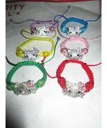 Ladies Fashion Shamballa Bead Hello Kitty Bracelet Brand New - $5.50