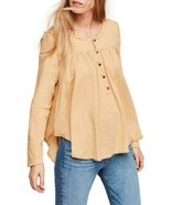 We The Free By Free People Femmes Sand Dune OB903969 Chemisier Sand Tail... - $50.82