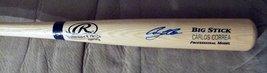 Carlos Correa Signed Engraved Big Stick Bat...PSA/DNA COA - $295.95