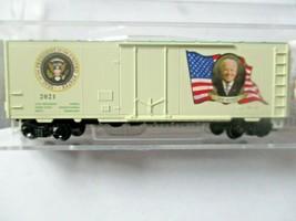 Micro-Trains # 07400146 Joe Biden Presidential 40' Boxcar Road # 2021. N-Scale image 2