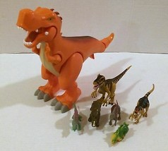 Fisher-Price Imaginext Dinosaur T-Rex and Few Other Dinosaurs! - $12.86