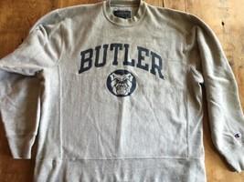 Champion Butler Bulldogs Crewneck Sweatshirt sz M Reverse Weave  Mint - $30.58