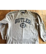 Champion Butler Bulldogs Crewneck Sweatshirt sz M Reverse Weave  Mint - $33.24