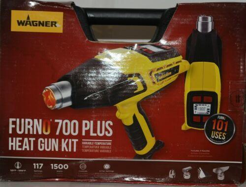Wagner 0503086 Furno 700 Plus Heat Gun 117 Settings Kit Corded New in Box