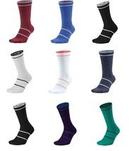 New Nike Court Essential Crew Dri-Fit Socks Large SX6913 Rafa Federer L/R Tennis - $20.00+