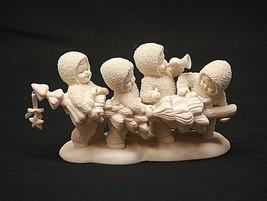 Snowbabies Hi-Ho, Hi-Ho, To Frolic Land We Go w Christmas Tree Figurine Dept. 56 - $39.59