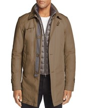 Herno Mens Layered Down Sub Zero Belted Trench Coat Italy $1075 - $279.99