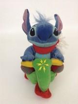 "2002 Disney Hasbro Stitch 11"" Plush Stuffed Lilo & Stitch Alien Dog Pull... - $15.99"