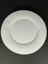 "SET OF 4 - WILLIAMS - SONOMA AVIGNON WHITE 11-3/8"" DINNER PLATES - PRISTINE - $78.40"