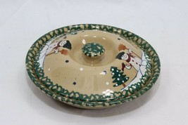 """LTD Commodities Snowman Pie Plate 9"""" Covered - $27.93"""