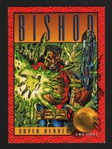 1993 SkyBox Marvel Comics X-Men Series II Art Card SIGNED by Al Milgrom / Bishop - $12.86