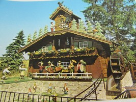 Worlds Largest Cuckoo Clock Alpine Alpa Wilmot OH Vintage Postcard 51856... - $11.87