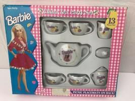 Barbie China Tea Party Set 13 Piece 1994 Toy - $9.89