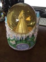 Walt Disney Barbie as Rapunzel Musical Snow Globe - $12.37