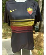 NWT men's Nike Dri Fit Exclusive Roma 1927 Italy Soccer jersey shirt med... - $24.77