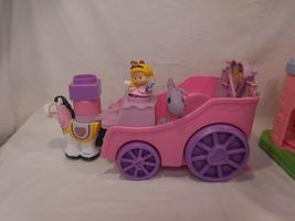 Fisher Price Little People Pink Castle + Play 'N Go Castle + Princess Carriage image 12