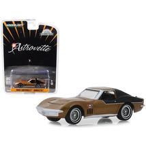 1969 Chevrolet Corvette Gold AstroVette (NASA Apollo XII Astronauts) Hob... - $14.35