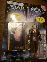 1997 Star Trek TNG Professor Data Action Figure Playmates Toys New on Ca... - $9.08