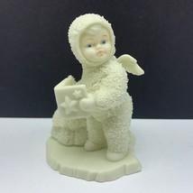 Snowbabies department 56 christmas figurine angel porcelain snow babies caroler - $22.77