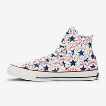 CONVERSE ALL STAR 100 MANYPATCH HI White Chuck Taylor Limited Japan Excl... - $130.00
