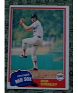 Bob Stanley, Red Sox,  1981 #421  Topps Baseball Card - GD COND - CLASSI... - $2.96