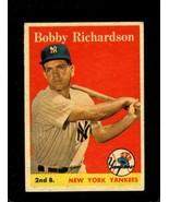 1958 TOPPS #101 BOBBY RICHARDSON VGEX+ YANKEES  *X01065 - $14.85