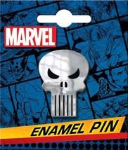 Marvel Comics The Punisher Skull Logo Thick Metal Enamel Pin NEW UNUSED - $7.84