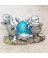 HEAR SEE SPEAK NO EVIL TURTLE FIGURINE Trio Ocean Beach Sea Animal Decor - $13.92