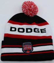 Dodge Rogers Hometown Hockey Toque Winter Hat Cap One Size Fits All Unisex - $10.02