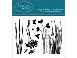 Technique Tuesday Growing Wild Clear Stamp Set #ISGW