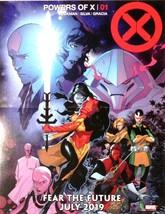 "Powers of X #1 Promo Poster Hickman R.B Silva Art 13x10"" Marvel 2019  - $5.95"