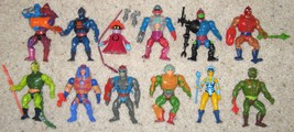 Vintage MASTERS OF THE UNIVERSE Lot ~ 12 Figure... - $77.77