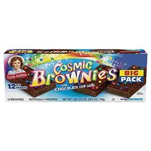Little Debbie Cosmic Brownies with Chocolate Chip Candy Big Pack 28 Oz - $26.72