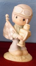 Trust In Lord To The Finish Race car Driver Precious Moments PM842 Speci... - $19.99