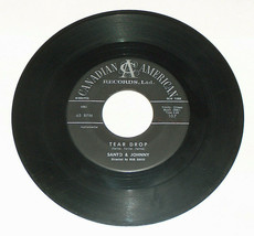 45 RPM Santo & Johnny Rasgar Gota The Long Walk Home Canadian Record 107 VG - $13.78