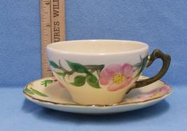 2 Franciscan Desert Rose Tea Coffee Cup & Saucer Vintage Earthenware - $11.87
