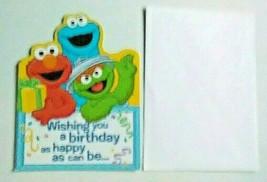 American Greetings Sesame Street Birthday Card - $2.94